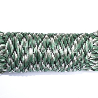 PARACORD 550 - green camo (5m)